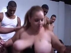 Incredible Interracial Big Tits sex movie. Enjoy