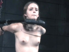 BDSM sub whipped after begging for punishment