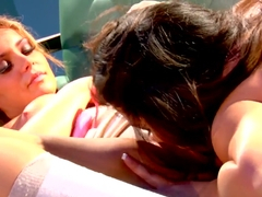 Kami Kai and Natasha Nice in lesbian porn