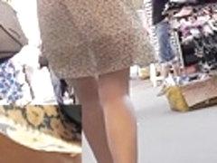 Pleasing lilac belts up petticoat