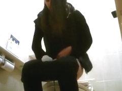Women peeing in toilet video compilation