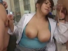 Hottest Japanese model in Amazing Big Tits, Threesomes JAV video