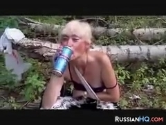 Homeless Russian Whore POV