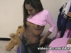 Licking my ebony immature slut nicely