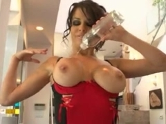 Naughty Tricks With Lots Of Oil And Anal For Veronica