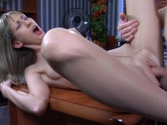 PantyhoseLine Video: Florence A and Rolf
