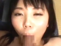 Hottest Japanese chick Rio Hoshino in Best Blowjob, Facial JAV movie
