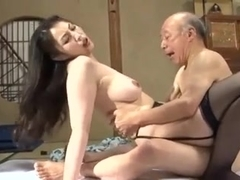 Old4k old man and chesty wife come home only to embark 9