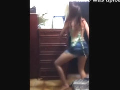 Fantastic wazoo popping web camera panty movie scene