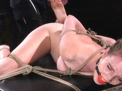 Ashley Lane & The Pope in Extreme Domination And Torment In Mind Blowing Bondage - HogTied