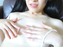 Stunning Jav Teen Moe Goto Teases Taking Her Panties Off And Oiling Her Tight Body Very Cute Gravu.