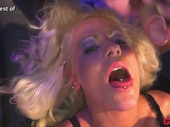 Exotic pornstar in Best Bukkake, Group sex xxx clip