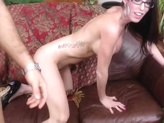 Dava Foxx in Chad White Cums On Dava's Glasses - DavaFoxx