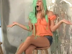 Amber Pied And Slimed 4