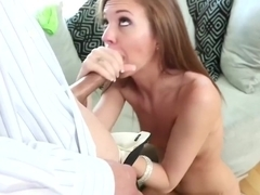 Daddy Fucks The Babysitter...