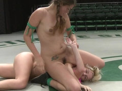 Two Sexy Rookies Battle It Out To See Who Fucks Who.Chloe Is Beaten And Then Fucked Hard - Publicd.