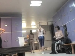 Bent over changing room asses on the hidden camera