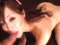 Hottest Japanese girl Natsumi Horiguchi in Fabulous Cougar, Facial JAV movie