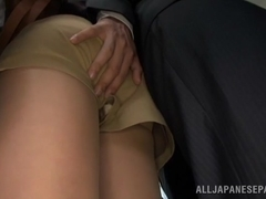 Akiho Yoshizawa getting fucked at the office