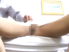 Sexy asian patient gets her twat fucked by a veiny manhood