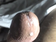Jacking Off in Bed (Slow-Mo Precum & Cum)