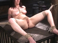 Cherry Torn,The Pope in Bound Slave Cherry Torn Tormented in Rope Bondage and Multiple Orgasms - T.