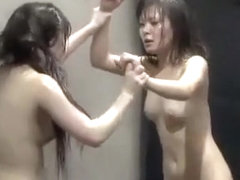 Japanese Nude Catfight Tournament part 1