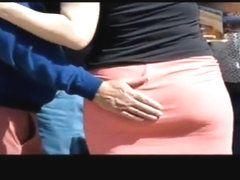 ass grope tight skirt