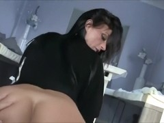 homemade, bigbusted wife in hardcore in kitchen