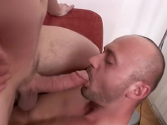 A pair of bisexual fuckers are eager to have fun with a hot chick