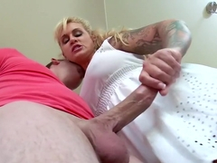 Stepmom Takes Some Young Cock