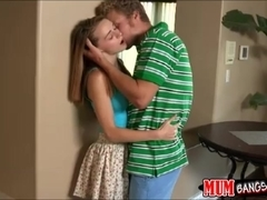 Strict step mom fucks Ava with strapon