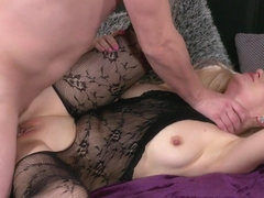 Dayana Ice & Steve Q in Wet Milf In Bodystocking Squirts - MomXxx