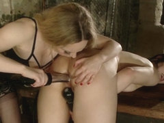 Aiden Starr  Becky Jane in Slut Test: Becky Jane's First Lesbian Experience - Electrosluts