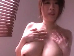 Crazy Japanese chick Nana Aoyama in Amazing Blowjob, Fingering JAV video