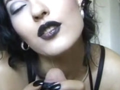Nice goth style hand / blowjob (website doesn't exist anymore) collection