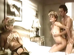 Exotic anal vintage movie with J. Massey and Hershel Savage