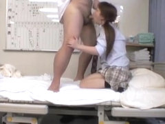 Hardcore Japanese sex with a perfect horny schoolgirl