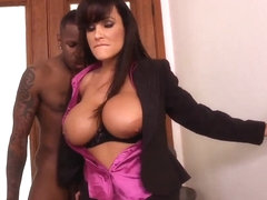 Cougar Lisa Ann gets wild poundings from strong Jon Jon