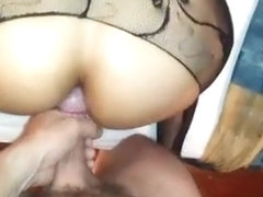 Pov anal with sexy booty lalin girl in bodysuit