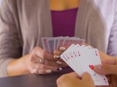 Alisha Rage, Ellen Million in Strip Poker