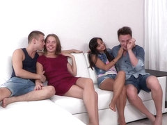 Young Sex Parties - Diana Dali - Shrima Malati - Double date and double fucking