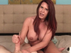 Grace Evangeline: Post Shower Milking - Over40Handjobs