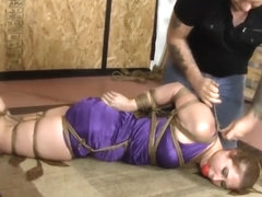 A Brutalizing Hogtie For Rose