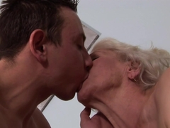 Incredible pornstar in Horny Grannies, Hairy adult scene