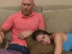 Johnny Sins falls into the sexy and wild charms of Rachel Roxxx