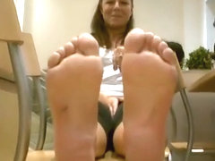 Hostess stinky feet