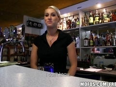 Public Pickups - SEXY Czech bartender paid for quick fuck