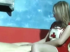 LESBO live rubber DOLL 1 - NV