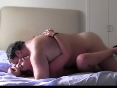 Passionate amateur couple fucking hard for cam